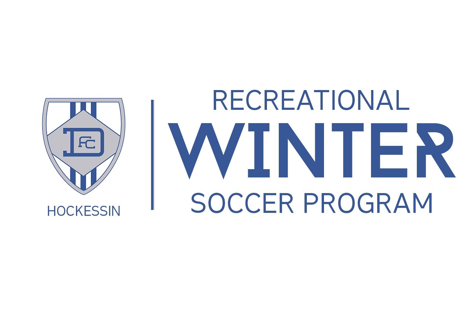 DEFC Hockessin Winter Recreational Soccer Program - Indoor Soccer